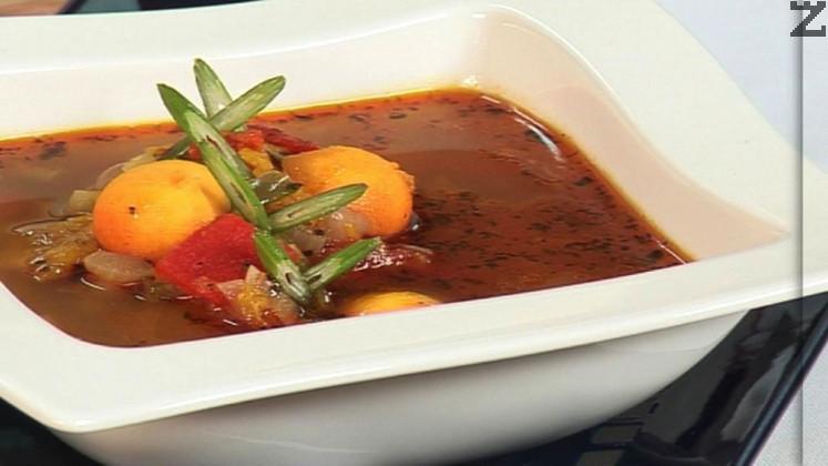 Супа от тиква и царевица
