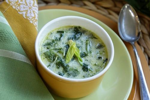 Супа от спанак с фиде