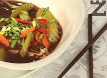 Сладко-кисела зеленчукова супа
