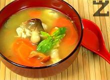 Пилешка супа Азия