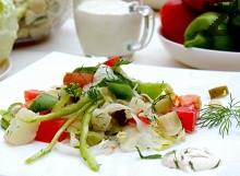 Зеленчукова салата за пикник