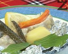 Задушен калкан със зеленчуци по камчийски