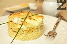 Макарони със сирене и кашкавал на фурна