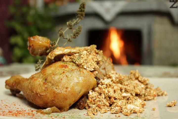 Пиле по кремански