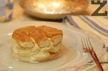 Лесна бишкотена торта с дъх на карамел