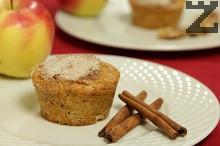 Ябълкови кексчета с моркови