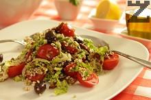 Средиземно-морска салата с елда