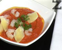 Печена доматена супа
