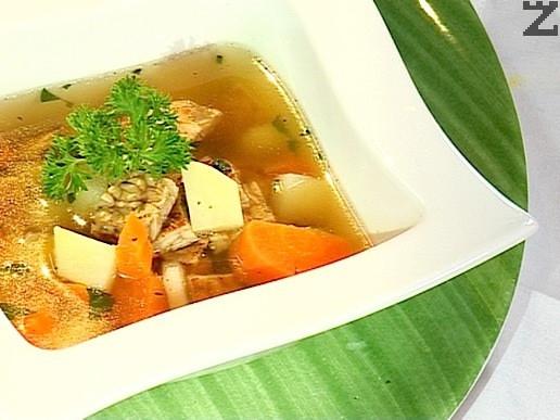 Супа с темпех