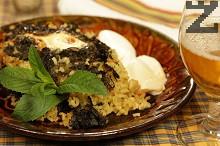 Бурания с ориз и лапад