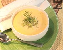 Супа от тиквички и сирене