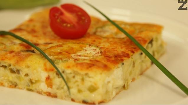Селска пита с тиквички и сирене