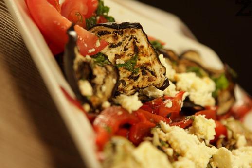 Гриловани зеленчуци със сирене