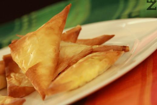 Тригуни със сирене и праз