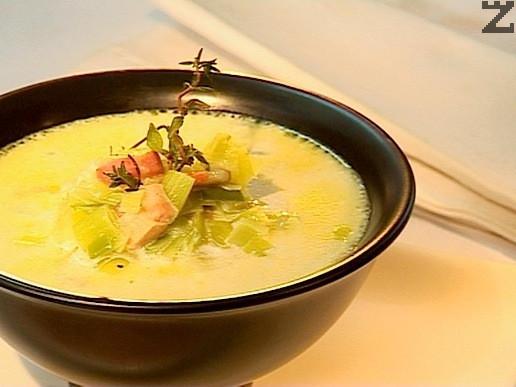 Супа от праз и бекон
