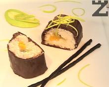 Суши от шоколад