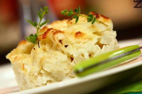 Огретен от карфиол с картофи