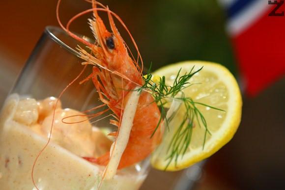 Коктейл от скариди - кухнята на Норвегия
