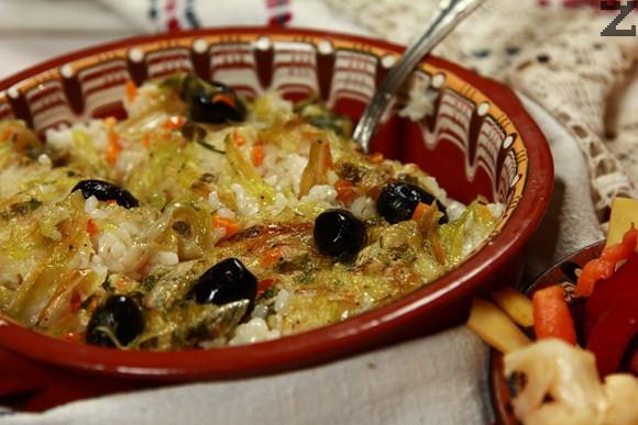 Праз с ориз и маслини