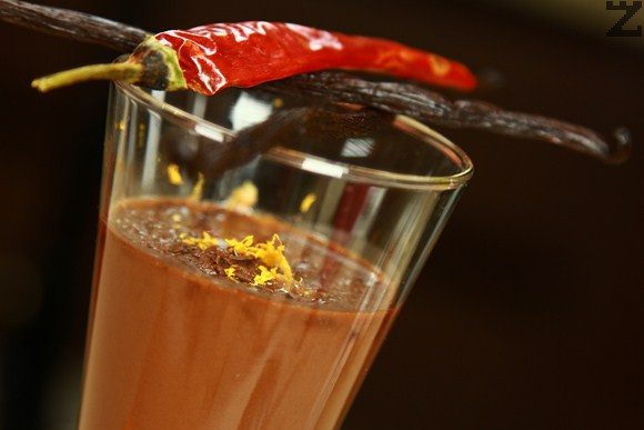 Горещ шоколад с чили