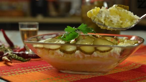 Сухо мезе с картофи
