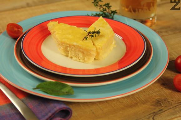 Кашкавал със сирене на фурна