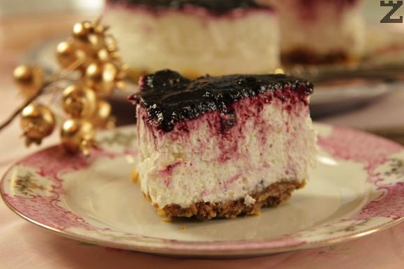 Торта смърфиета