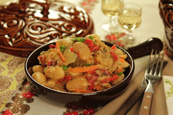 Родопска боб салата