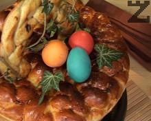 Великденска пита-кошница