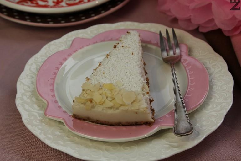 Торта Рафаело без захар и брашно