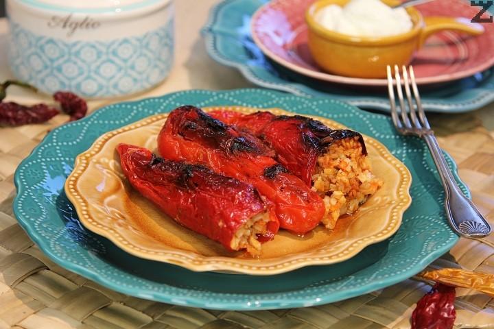 Пиперки пълнени с ориз