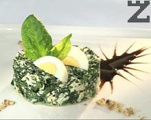 Секировска спаначена салата