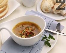 Супа от гъби и овесени ядки