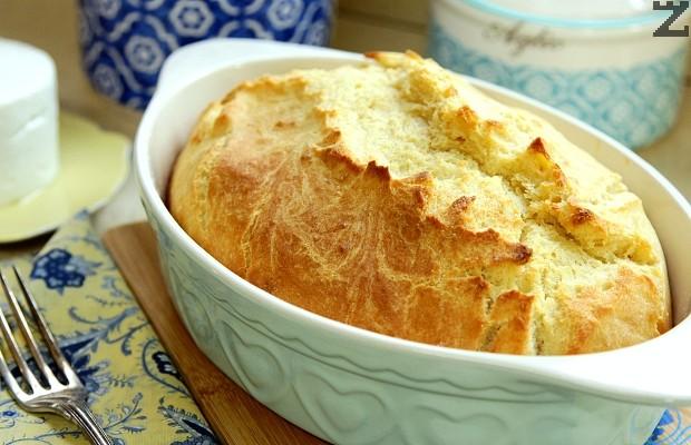 Хляб без месене - супер бърз и лесен