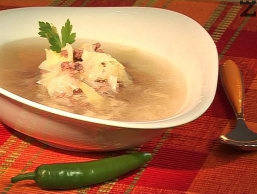 Естонска зелева супа