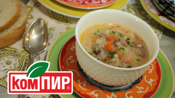 Супа топчета с картофи