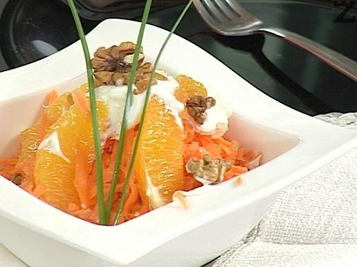 Оранжева салата