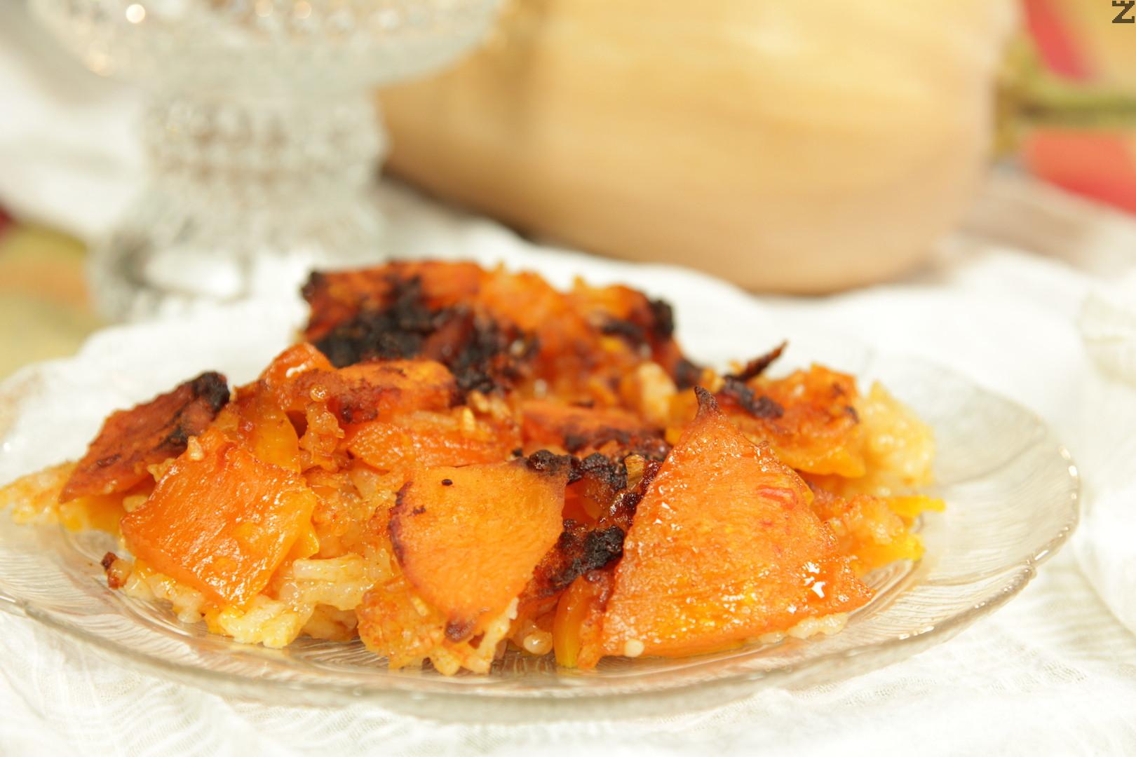 Сладка тиква с ориз