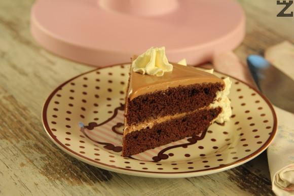 Двойно шоколадова торта