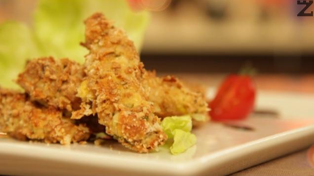 Хрупкаво пиле с пармезан