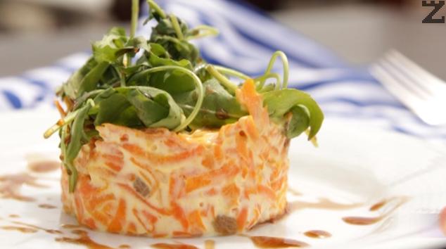 Арабска салата с моркови и стафиди