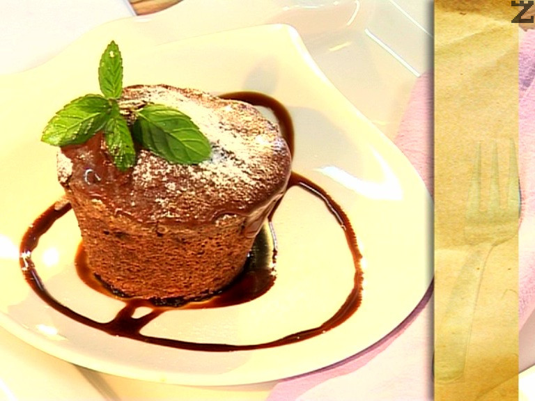 Кейк с тиква и черен шоколад