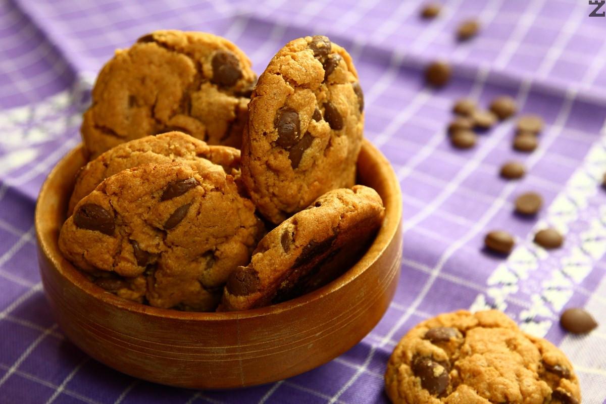 Курабийки с шоколад без брашно