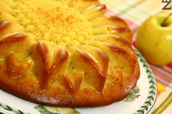 Ябълков кекс без мазнина