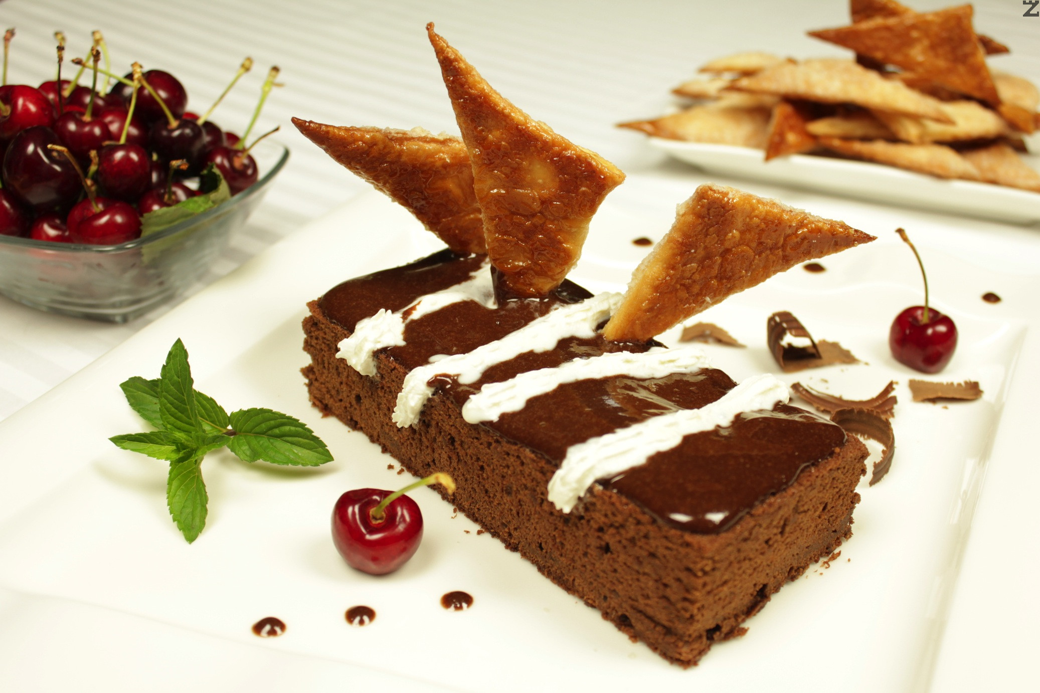 Шоколадов кейк с череши