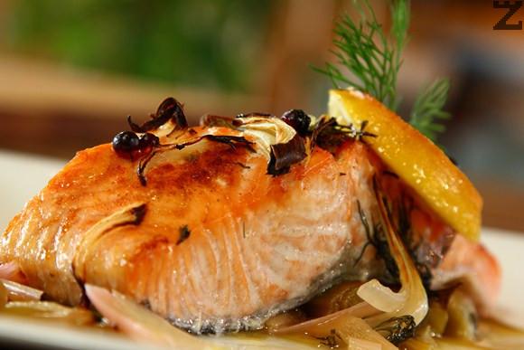 Норвежка рибена мозайка