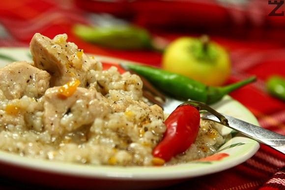 Пилешко филе с ориз по странджански