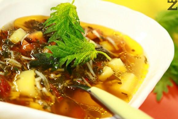 Копривена супа Експрес