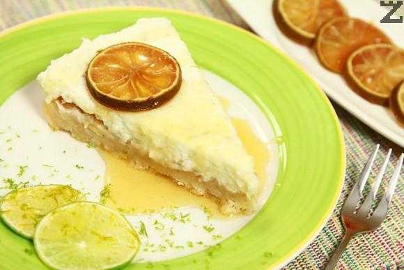 Турски лимонов чийзкейк