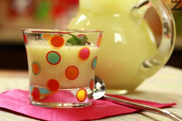Лимонада с мента